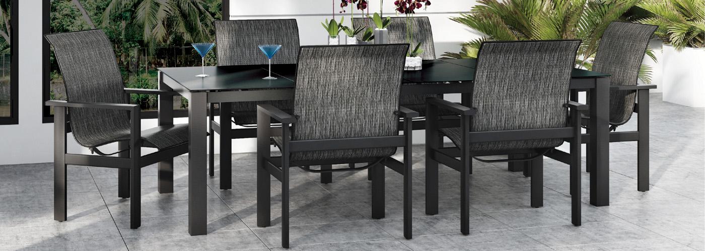 Homecrest elements outdoor furniture collection for Homecrest outdoor furniture