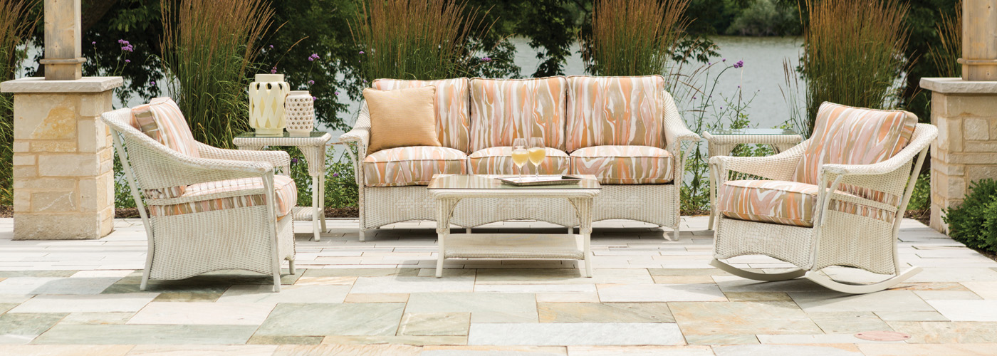 lloyd flanders nantucket collection lloyd loom wicker furniture. Black Bedroom Furniture Sets. Home Design Ideas