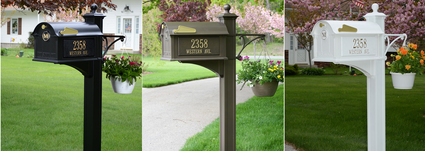 Whitehall Balmoral Mailbox Usa Outdoor Furniture