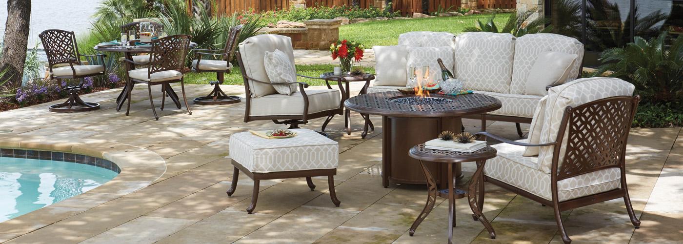 woodard casa collection usa outdoor furniture