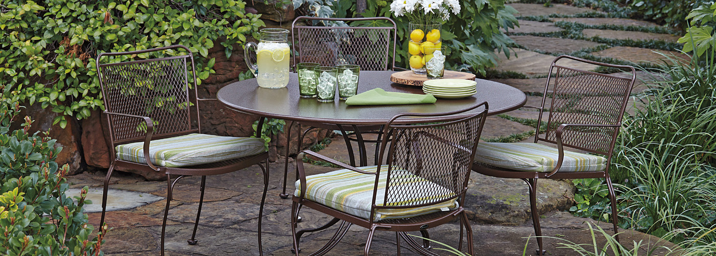 Woodard Constantine Furniture Collection Wrought Iron