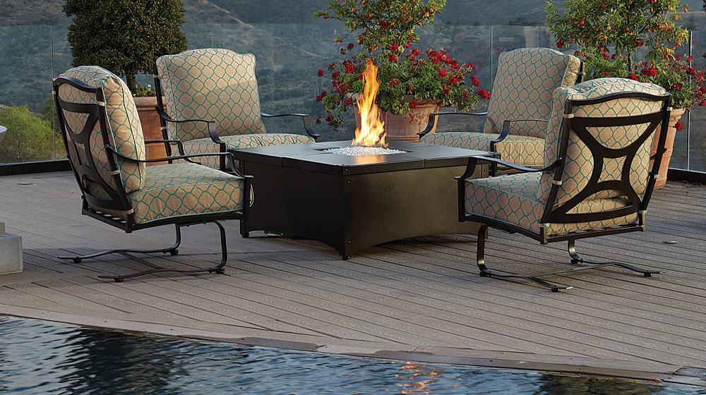 Ow Lee Madison Set With Aero Fire Pit