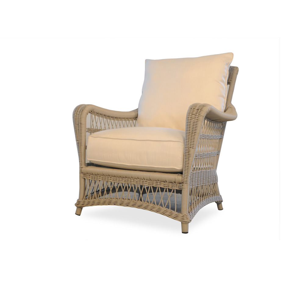 Fairhope Vinyl Wicker Lounge Chair
