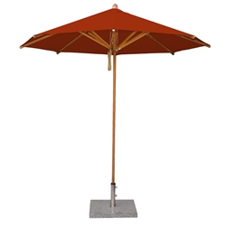 Bambrella Levante 10 Foot Round Dining Umbrella - 30m-R-LCT