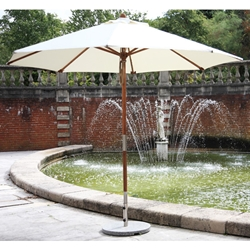 Bambrella Sirocco 10 foot Round Umbrella - 3M-38MM-R-S