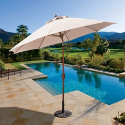 Galtech Galtech Aluminum 9 Foot Octagon Umbrella with Standard Auto Tilt - 736