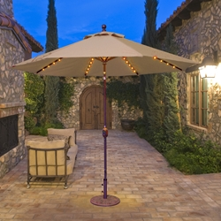 Galtech Patio Umbrellas and Bases | Aluminum, Teak and Cantilever ...