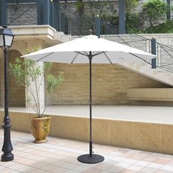 Galtech Aluminum 9 Foot Octagon Commercial Umbrella with Manual Lift - 735