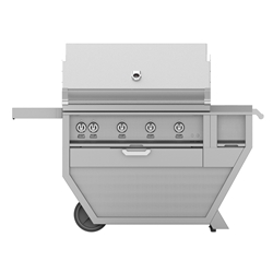 "Deluxe 42"" Grill with Work Top and Storage Drawer"
