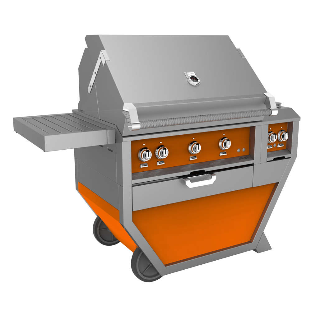 Hestan Deluxe 36 Quot Grill With Work Top And Storage Drawer
