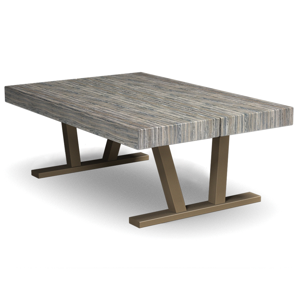 Homecrest Atlas 30 Inch By 44 Rectangle Coffee Table 153045