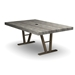 Homecrest Atlas 45 inch by 70 inch Rectangle Dining Table - 154570D
