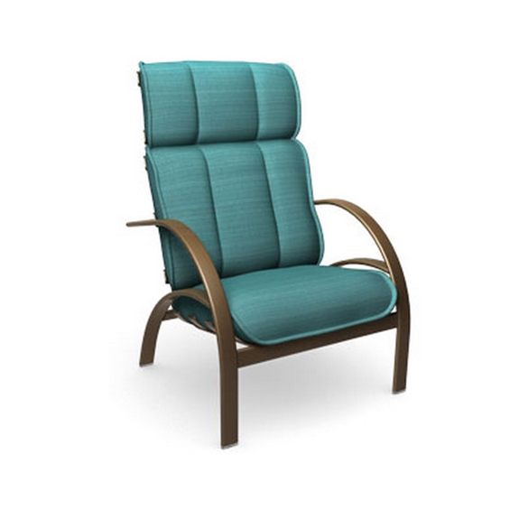 Homecrest bellaire high back chat chair b3990 for Homecrest outdoor furniture covers