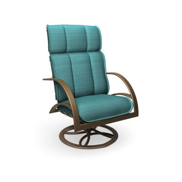 homecrest bellaire high back swivel rocker chat chair b9090 - Swivel Rocker Chair