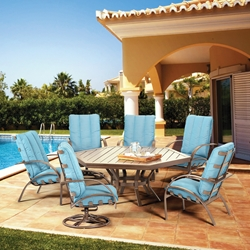 Homecrest Bellaire Hexagon Patio Dining Set - HC-BELLAIRE-SET6
