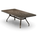 Homecrest Camden Cast 42 inch by 84 inch Rectangle Dining Table - 144284D