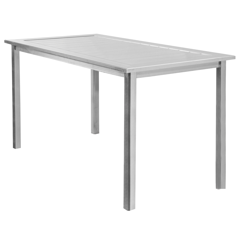 Homecrest Dockside 44 inch by 62 inch Rectangle Balcony Table - 314462B