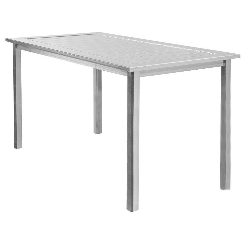 Homecrest Dockside 44 inch by 70 inch Rectangle Balcony Table - 314470B