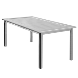 Homecrest Dockside 44 inch by 70 inch Rectangle Dining Table - 314470D