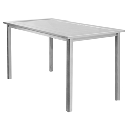 Homecrest Dockside 44 inch by 87 inch Rectangle Balcony Table - 314487B
