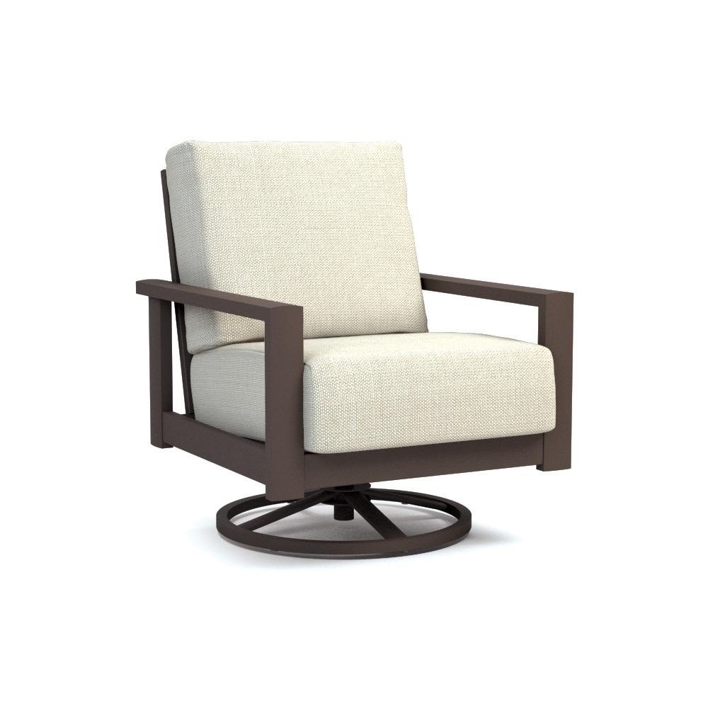 Homecrest Elements Cushion Swivel Rocker Chat Chair 5190a