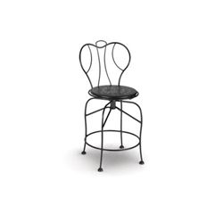 Homecrest Espresso Swivel Balcony Stool - 93250