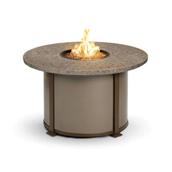 Homecrest Valero Natural 42 inch round Chat Fire Pit Table - 4642CSG