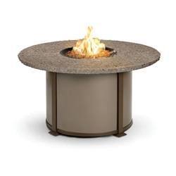 Homecrest Valero Natural 48 to 54 inch round Chat Fire Pit Table - 4654CSG