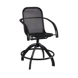 Homecrest Florida Mesh Swivel Balcony Stool - 2F580