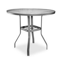 Homecrest Glass 48 inch Round Bar Table - 0749501