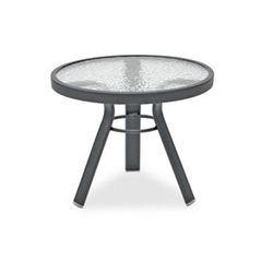 Homecrest Glass 21 inch Round Side Table - 17213