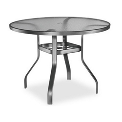 Homecrest Glass 48 inch Round Balcony Table - 1746501