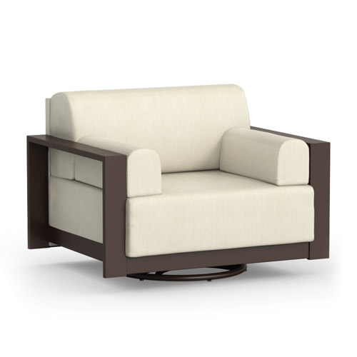 Homecrest Grace Cushion Swivel Cuddle Chair - 10981