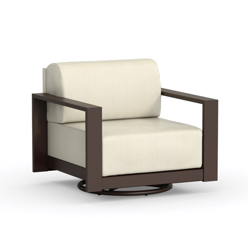 Homecrest Grace Cushion Swivel Chat Chair - 10991