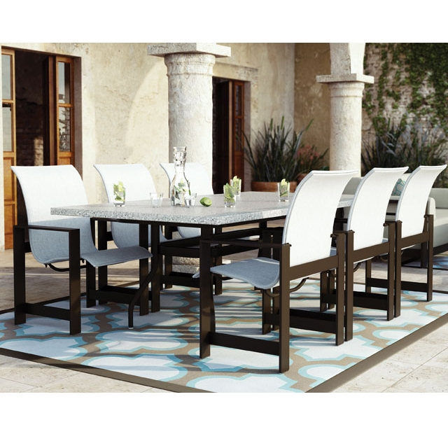 Homecrest Grace Sling 7 Piece Dining Set - HC-GRACE-SET1