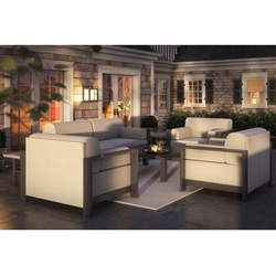 Homecrest Grace Loveseat and Cuddle Chair Set - HC-GRACE-SET7