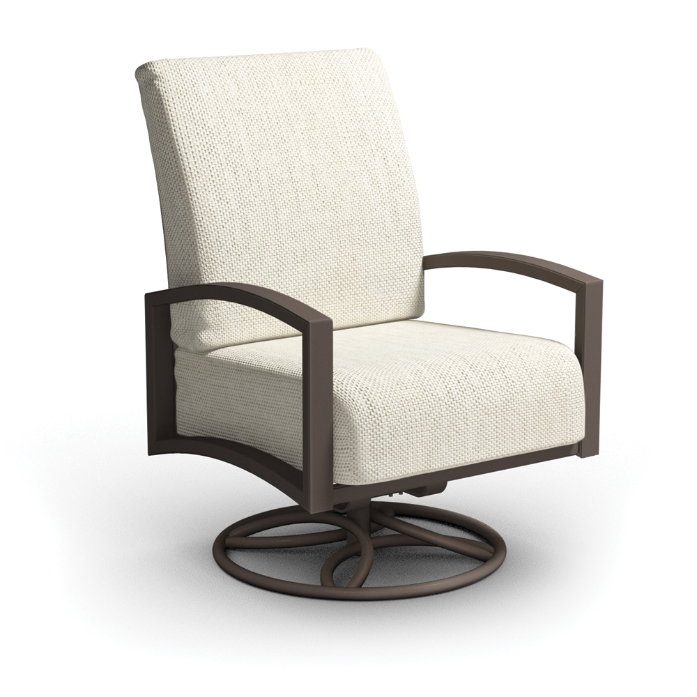 Homecrest Havenhill Cushion Swivel Rocker Chat Chair - 4A90A