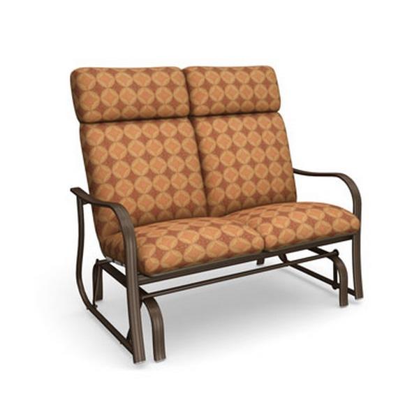 Homecrest Holly Hill Cushion High Back Loveseat Glider 2242a