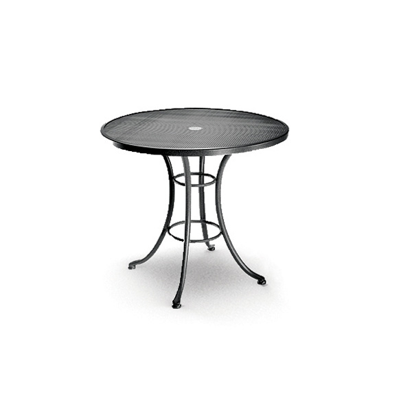 Homecrest 30 Inch Round Cafe Table with Steel Base  - 16305