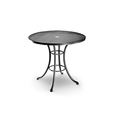 Homecrest 36 Inch Round Cafe Table with Steel Base  - 16365