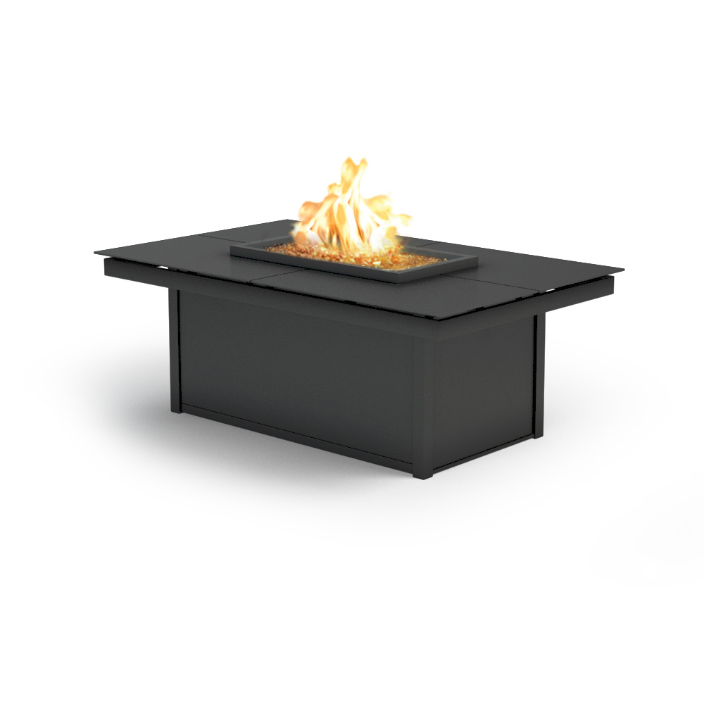 Homecrest mode 32 x 52 modern coffee fire pit table for Table 52 botswana