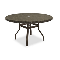 Homecrest Sandstone 54 inch round Dining Table with Angled Legs - 3854RDSS