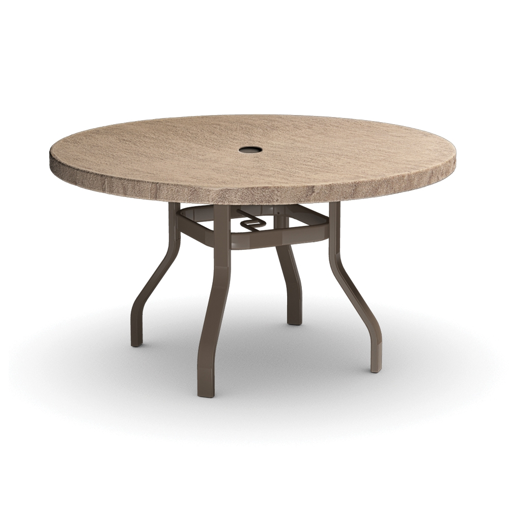 Homecrest Slate Round Dining Table RDSL - 48 inch oval dining table