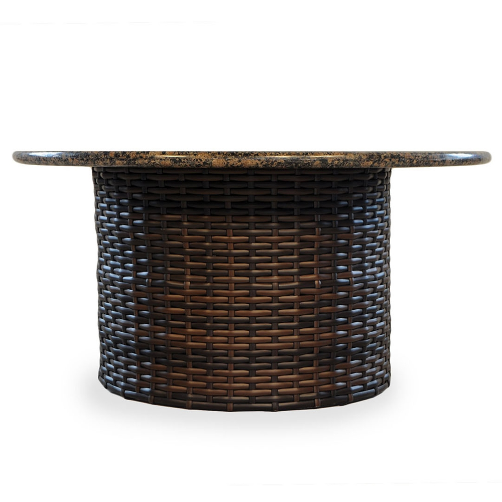 lloyd flanders contempo round fire pit table - Round Fire Pit