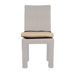 Lloyd Flanders Contempo Armless Dining Chair Cushion - 38907