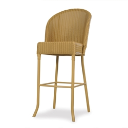 Lloyd Flanders Barrel Bar Chair - 286007