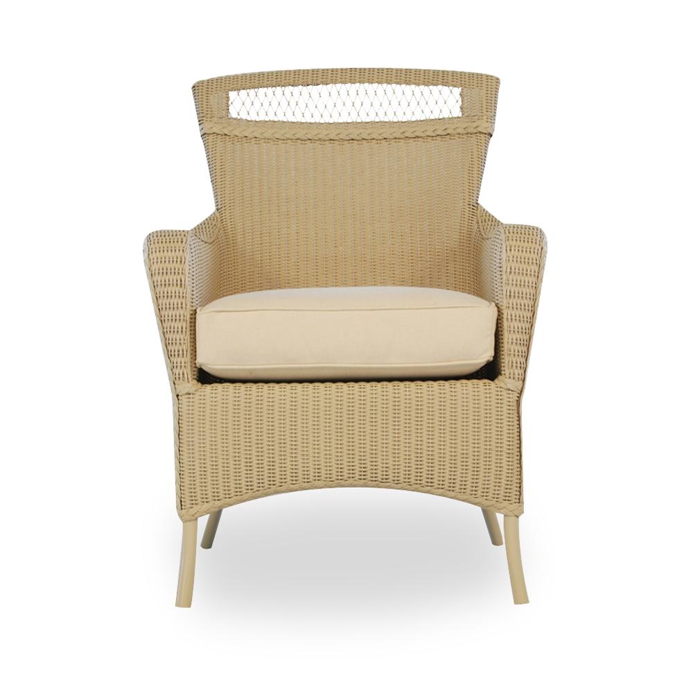 Lloyd Flanders Wicker Dining Arm Chair 66001