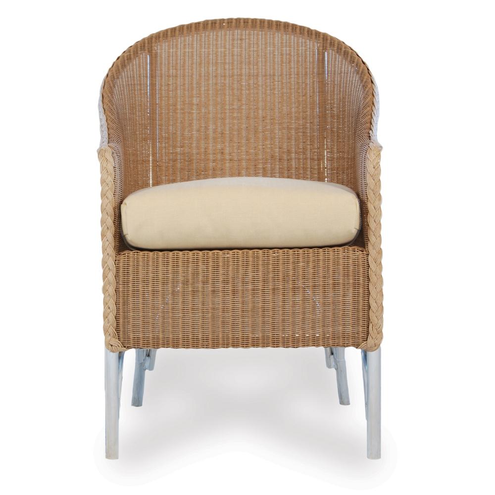 Lloyd Flanders Wicker Barrel Dining Chair 8004