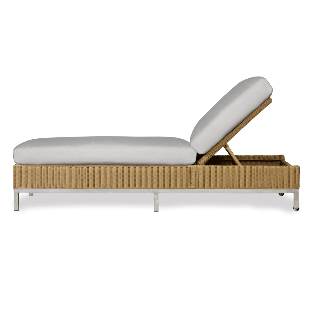 Lloyd Flanders Elements Modern Wicker Chaise - 203020