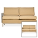 Elements Sectional Wicker Sofa Set - LF-ELEMENTS-SET3